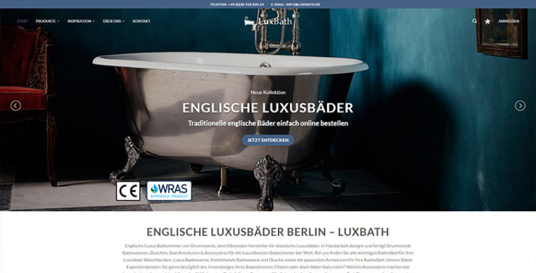 Luxbath – Luxusbäder Berlin