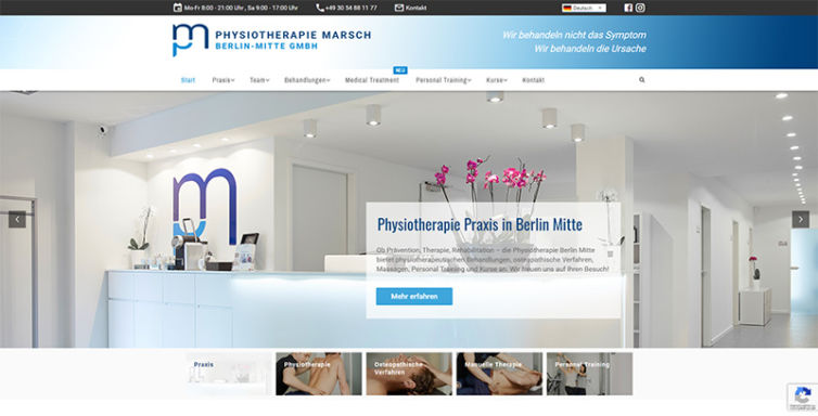 Physiotherapie Berlin Mitte