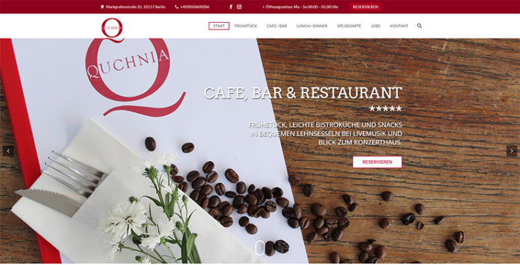 Quchnia – Cafe Bar Restaurant Berlin
